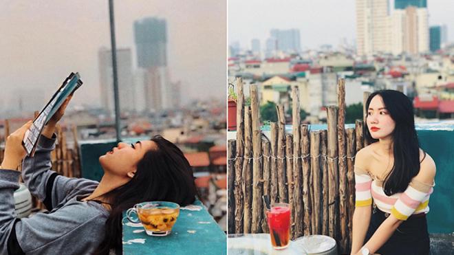 5 quán cà phê sân thượng ở Hà Nội cho góc chụp hình đẹp miễn chê