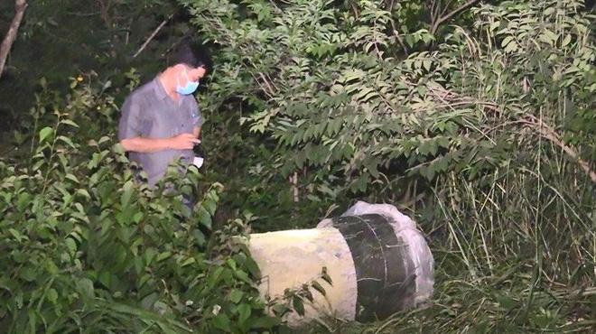 Nghi án giết người bỏ vào thùng nhựa rồi đổ bê tông phi tang