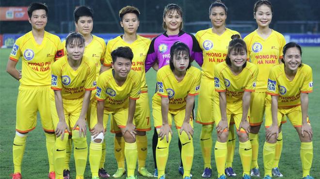 Hot girl Trần Thị Duyên vô địch cúp quốc gia cùng đội nữ Hà Nam