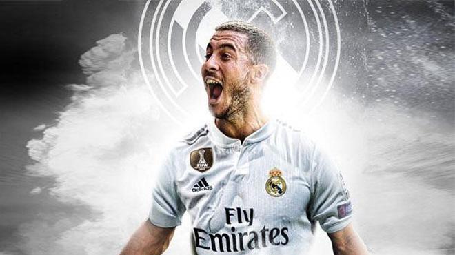 Real Madrid chiêu mộ thành công Eden Hazard
