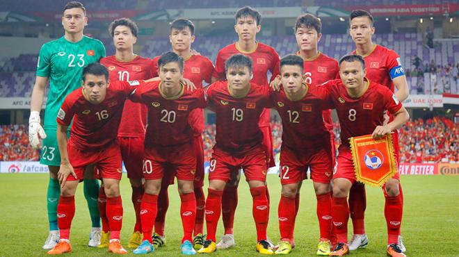 ĐT Việt Nam lên hạng 15 châu Á, lọt nhóm 2 vòng loại World Cup 2022