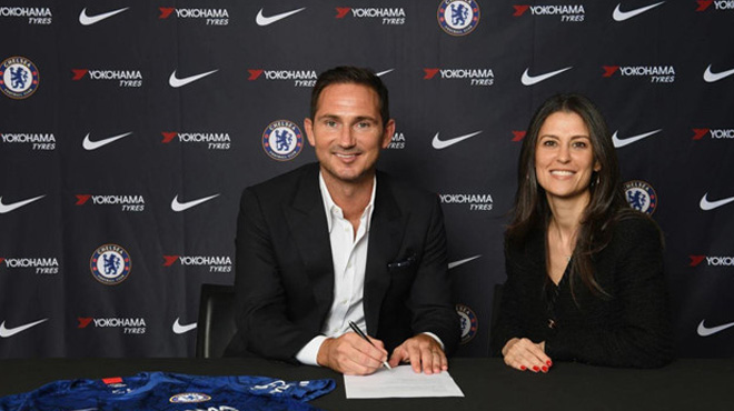 Chelsea bổ nhiệm Frank Lampard làm HLV trưởng
