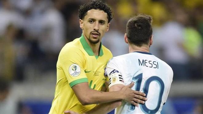 Sao Brazil khóa chặt Messi dù bị tiêu chảy