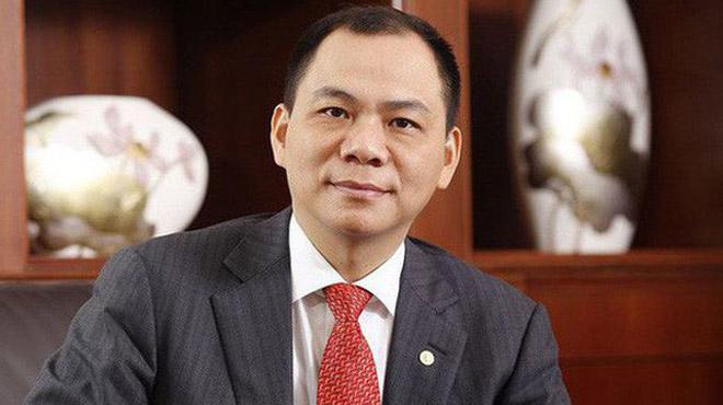 Tài sản ông Phạm Nhật Vượng tăng hơn 6.000 tỷ đồng vào hôm qua