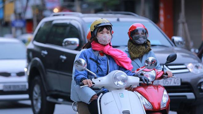 Giảm 6-10 độ C, Bắc Bộ chuyển lạnh cuối tuần
