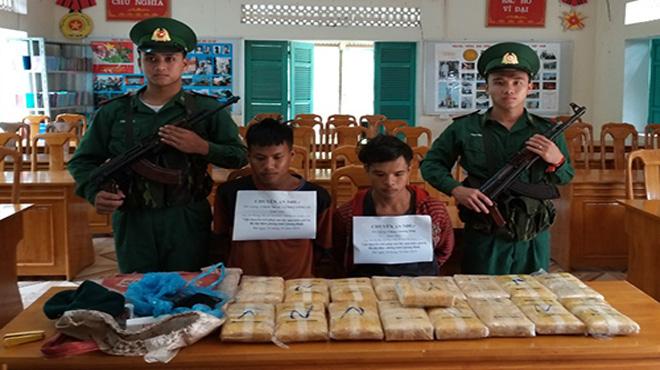 100.000 viên ma tuý bị chặn ở biên giới Quảng Bình