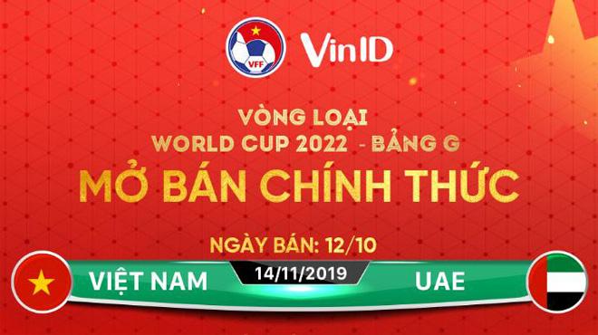 Vé xem tuyển Việt Nam đấu UAE hết trong 2 phút