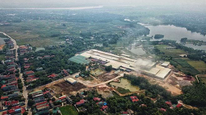 Gốm sứ Thanh Hà lên tiếng vụ xả dầu thải xuống nguồn nước sông Đà