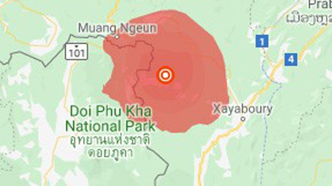 Động đất 6,1 độ ở Lào, nhiều chung cư tại Hà Nội rung lắc