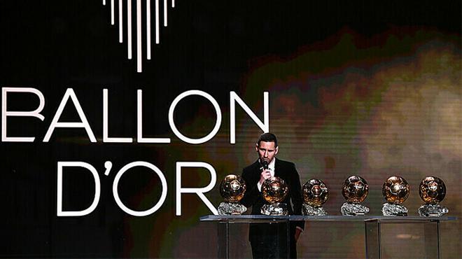 Messi giành Quả Bóng Vàng 2019