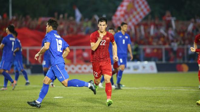 U22 Việt Nam 2 -2 U22 Thái Lan: Cú đúp của Tiến Linh tiến Thái Lan về nước