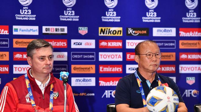 HLV Park thừa nhận U23 Việt Nam áp lực vì từng thua UAE ở ASIAD