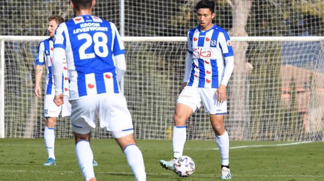 Văn Hậu đá 45 phút trong trận thắng của Heerenveen