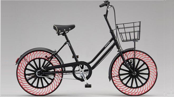 Lốp không hơi siêu bền không còn là giấc mơ, đã có cho xe đạp