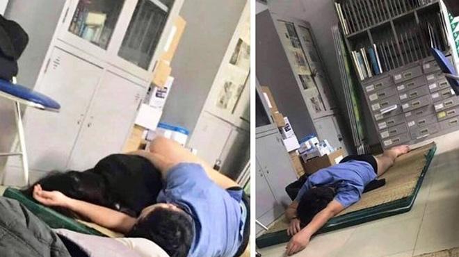 Bác sĩ bị tố ôm nữ sinh viên ngủ trong ca trực