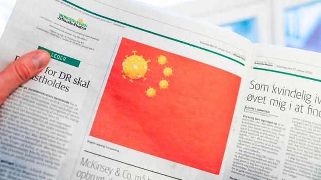 Đan Mạch từ chối xin lỗi Trung Quốc vì tranh biếm họa virus corona