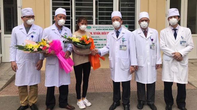 Thanh Hóa chữa khỏi cho cô gái nhiễm virus corona từ vùng dịch Vũ Hán