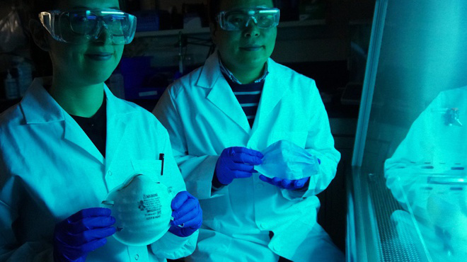 Khẩu trang muối có thể tiêu diệt virus corona?
