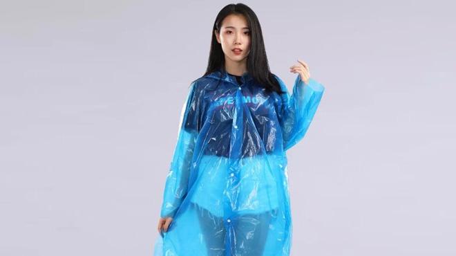 Xiaomi ra mắt áo mưa dùng một lần, giá 99.000 VND