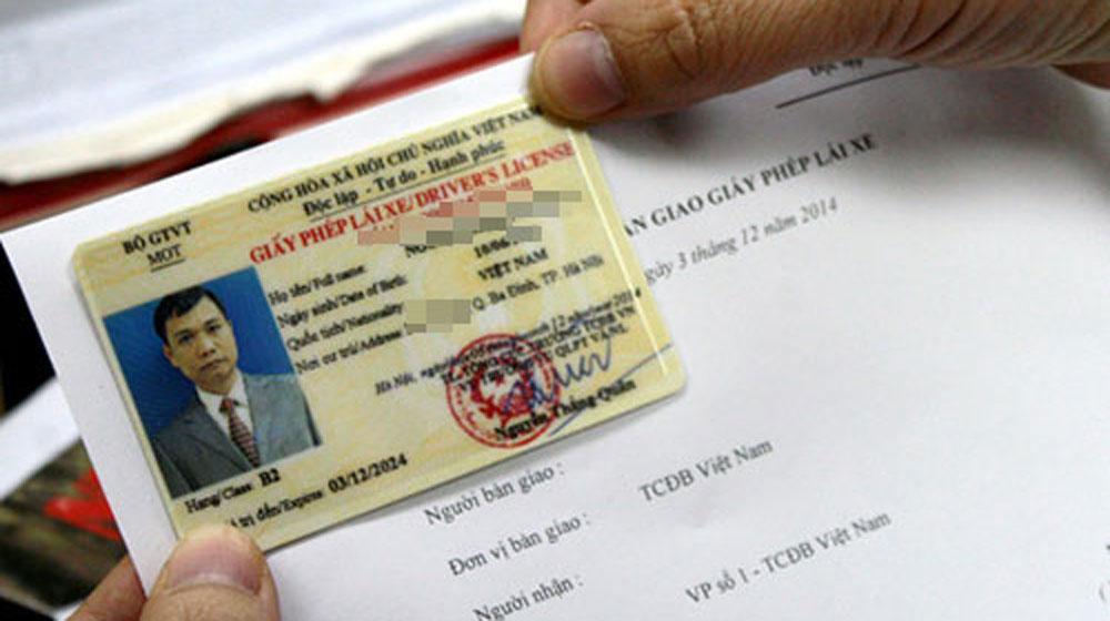 Cách đổi mới và cấp lại giấy phép lái xe bị mất không cần thi lại