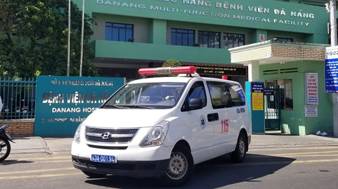 Hai bệnh nhân mắc Covid-19 ở Đà Nẵng tiên lượng rất nặng