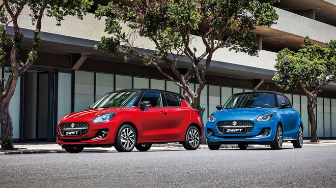 Hãng Suzuki đã cho ra mắt Suzuki Swift phiên bản mới