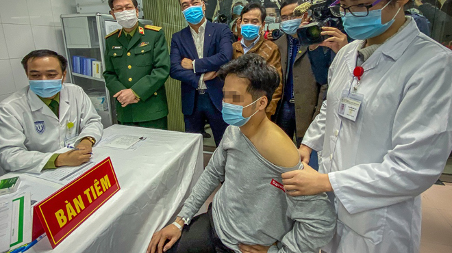 Lần đầu thử nghiệm tiêm vaccine Covid-19 trên người ở Việt Nam