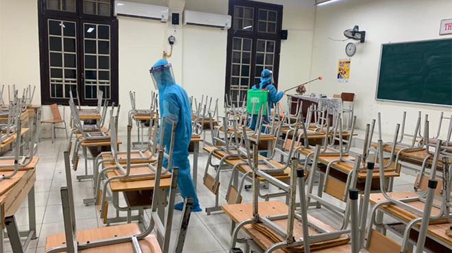 Học sinh Hà Nội có thể được nghỉ học sớm do dịch Covid