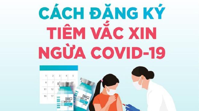 3 cách đăng ký tiêm vaccine Covid-19 tại TP.HCM